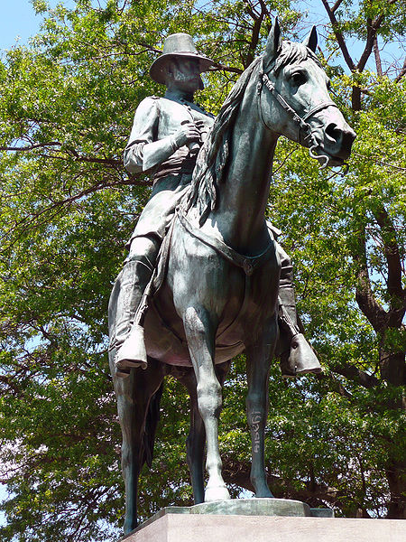 ­­­Major-General Ambrose E. Burnside (1887), City Hall, Providence, Rhode Island.