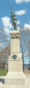 John Sedgwick Monument (1868), ­­United States Military Academy, West Point, New York.
