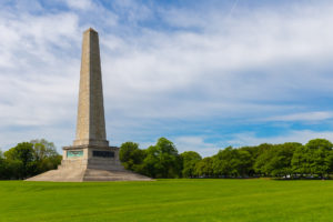 The Wellington Memorial in Phoenix Park.