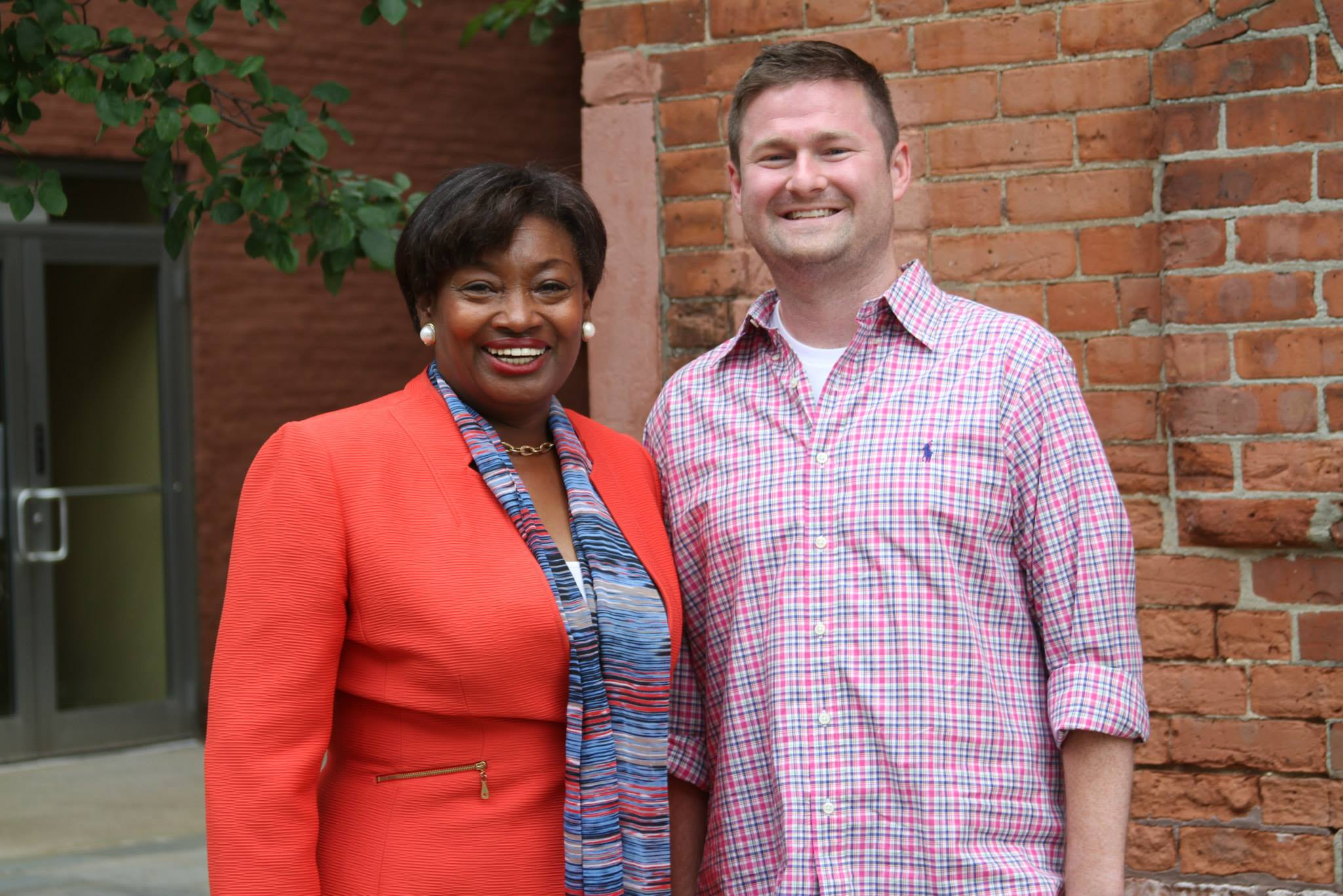 Pat with New York State Senator Andrea Stewart-Cousins. (Photo: Facebook / Quinn 4 the Win)