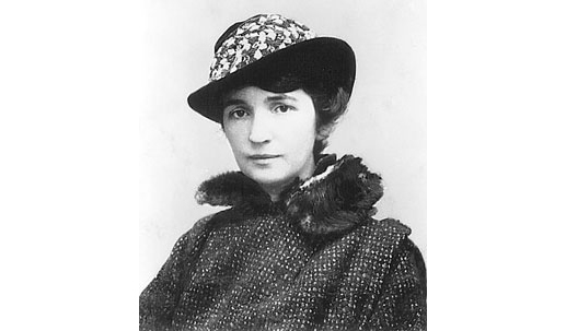 Margaret Higgins Sanger, who opened the first U.S. birth control clinic in 1916.