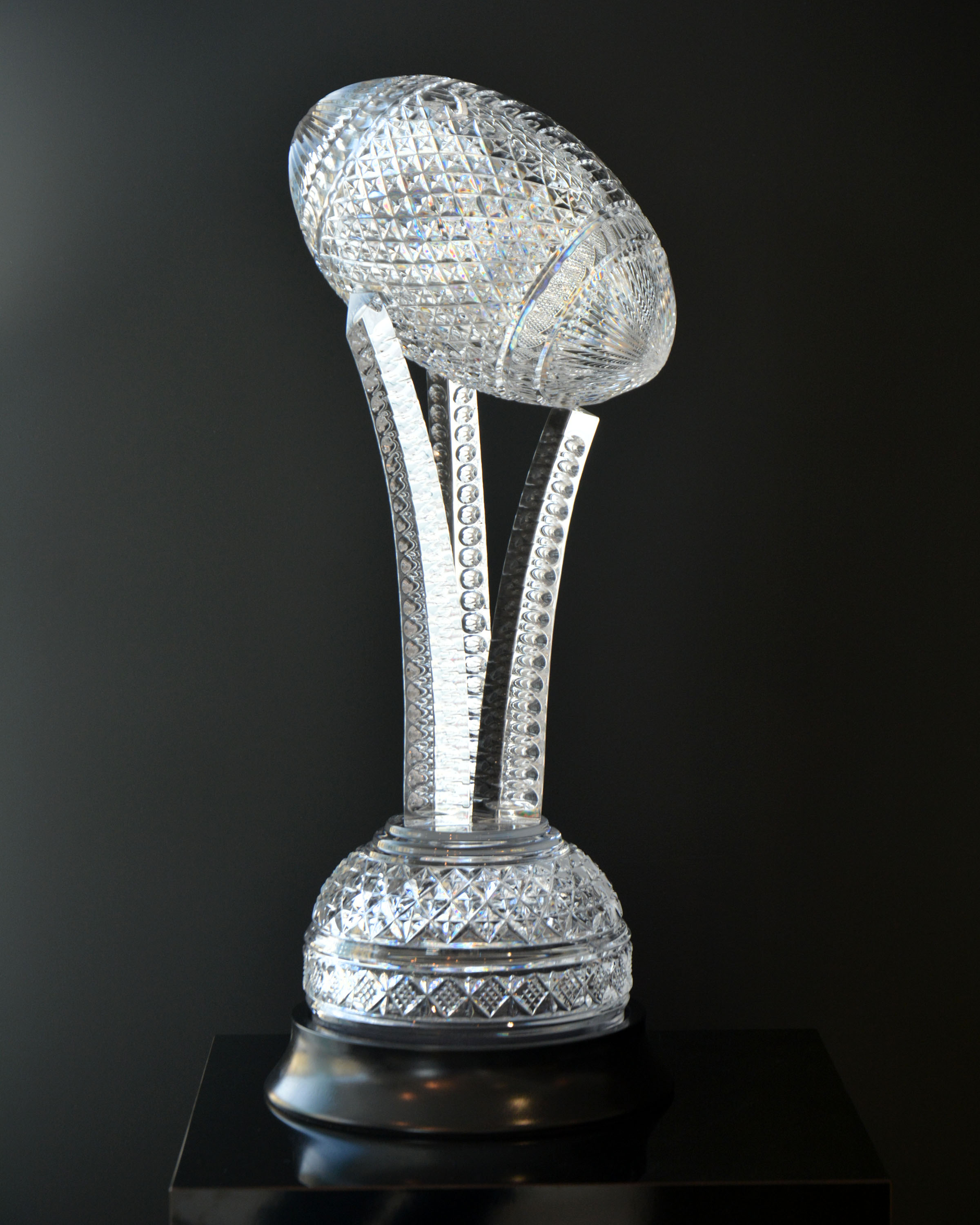 The House of Waterford Crystal Keough–Naughton College Football Trophy.