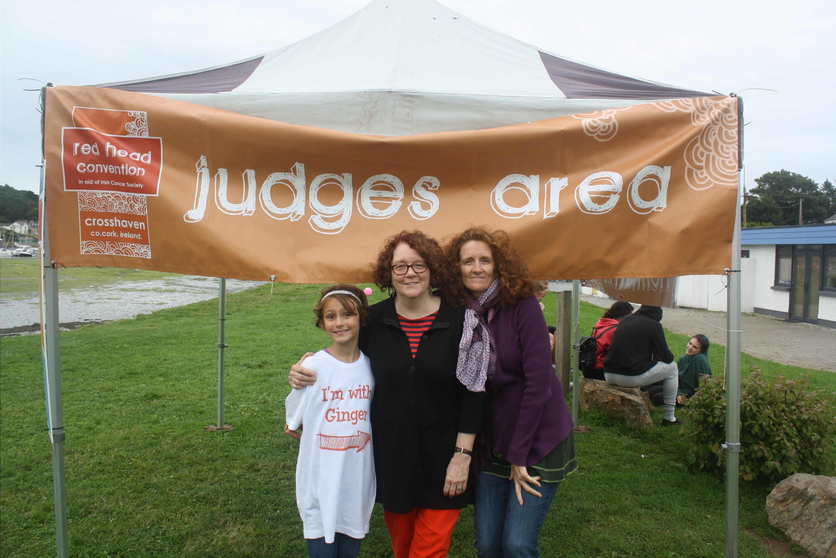 Ruby Patton, Julia Judge & Kate Patton at the Red Headed Convention.