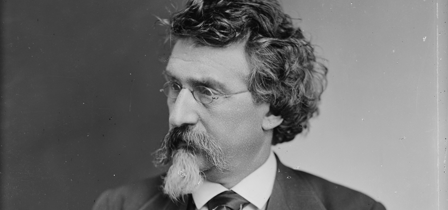 Civil War Photographer Mathew Brady was probably born in Ireland. Mathew Brady circa 1875. Library of Congress.