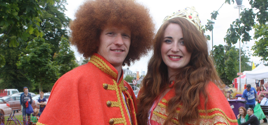 Red Head Convention 2015 - king and queen