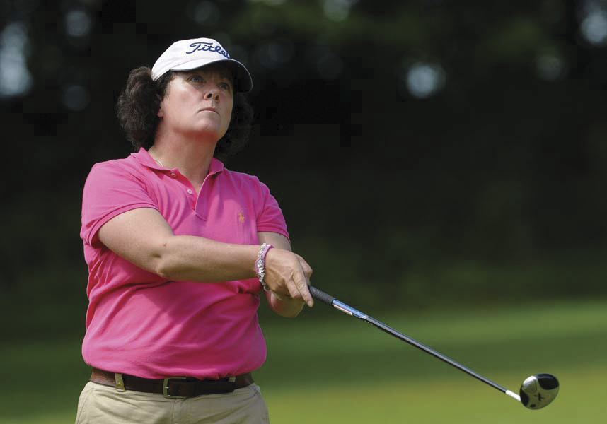 Chief Executive of the Irish Ladies Golf Union, Sinéad Heraty.