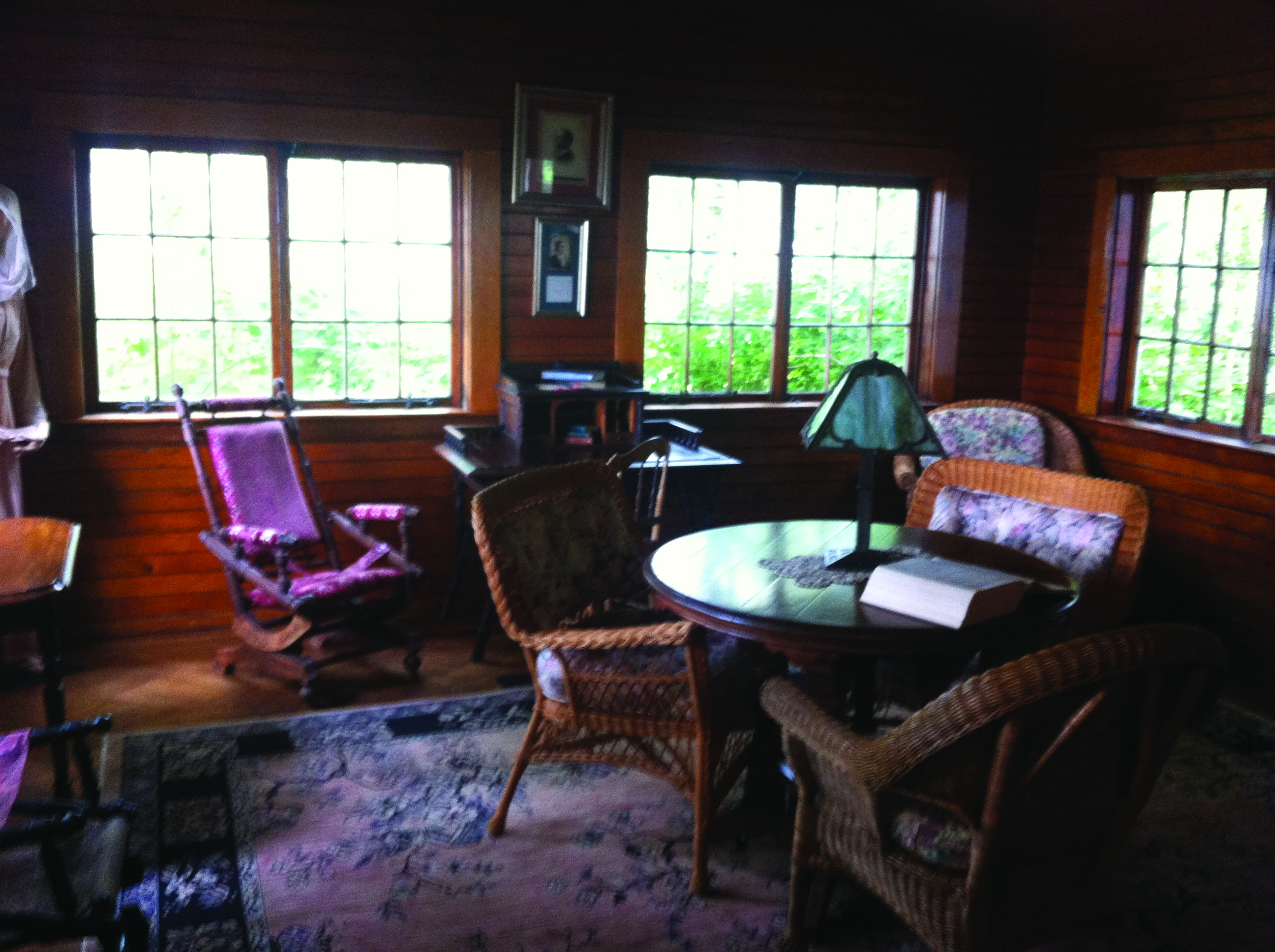 The living room in which O'Neill would set Long Day's Journey into Night.