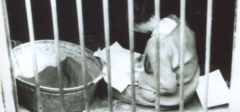 Countess Markievicz in prison  following the Rising.