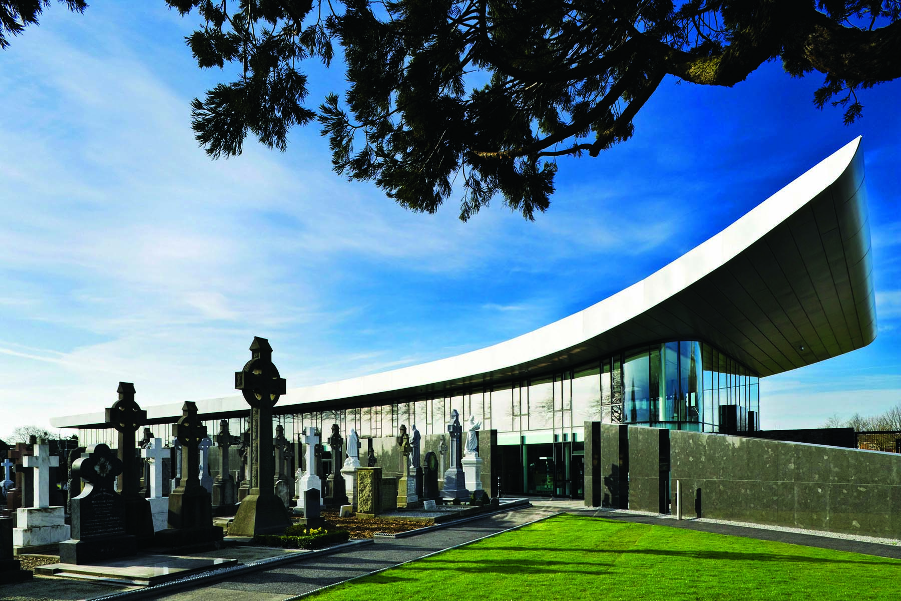 Glasnevin Cemetery, where many of those who took part in the Rising are buried.