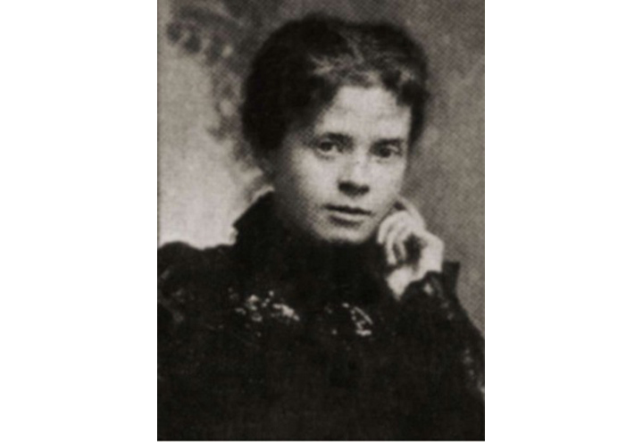 Alice Milligan, poet and writer, who was active in the Gaelic League.