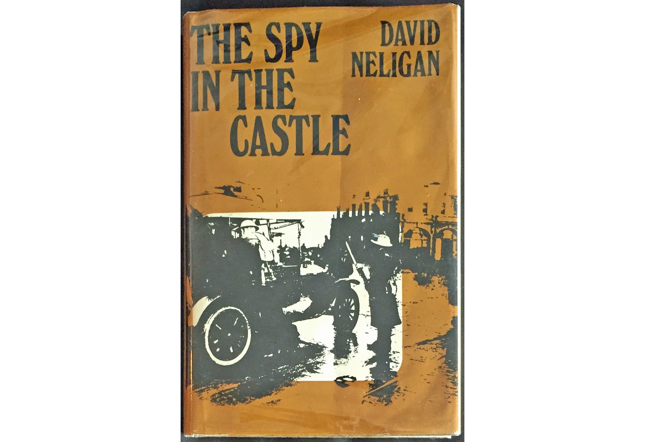 The cover of Neligan's book, The Spy in The Castle.