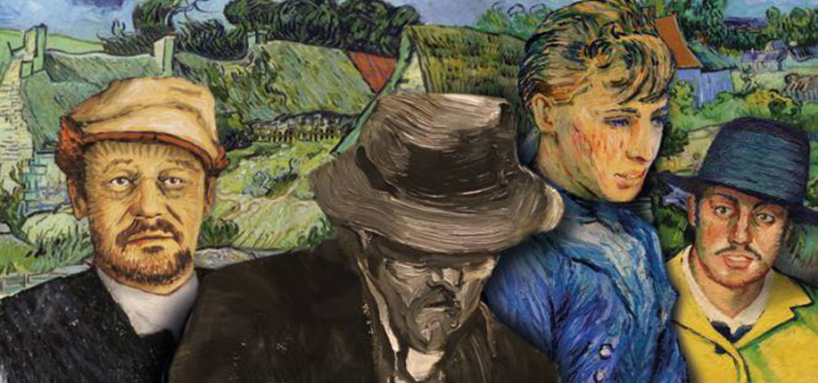 "Saoirse Ronan stars in ""Loving Vincent,"" the first ever painted animated movie."