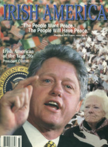 March, 1996 cover of Irish America.