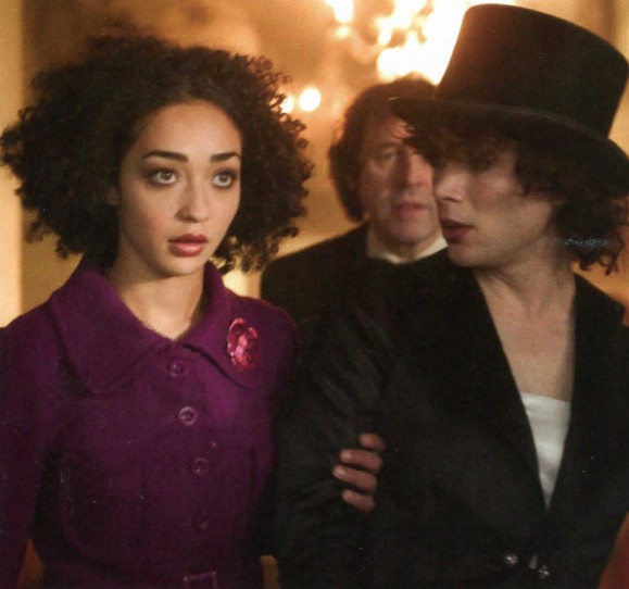 One to wach: Up-and-comer Ruth Negga in a scene with Cillian Murphy in Breakfast on Pluto