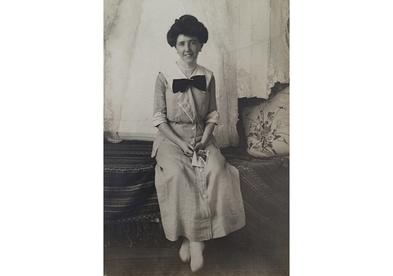 Julia as a young woman, circa 1916.