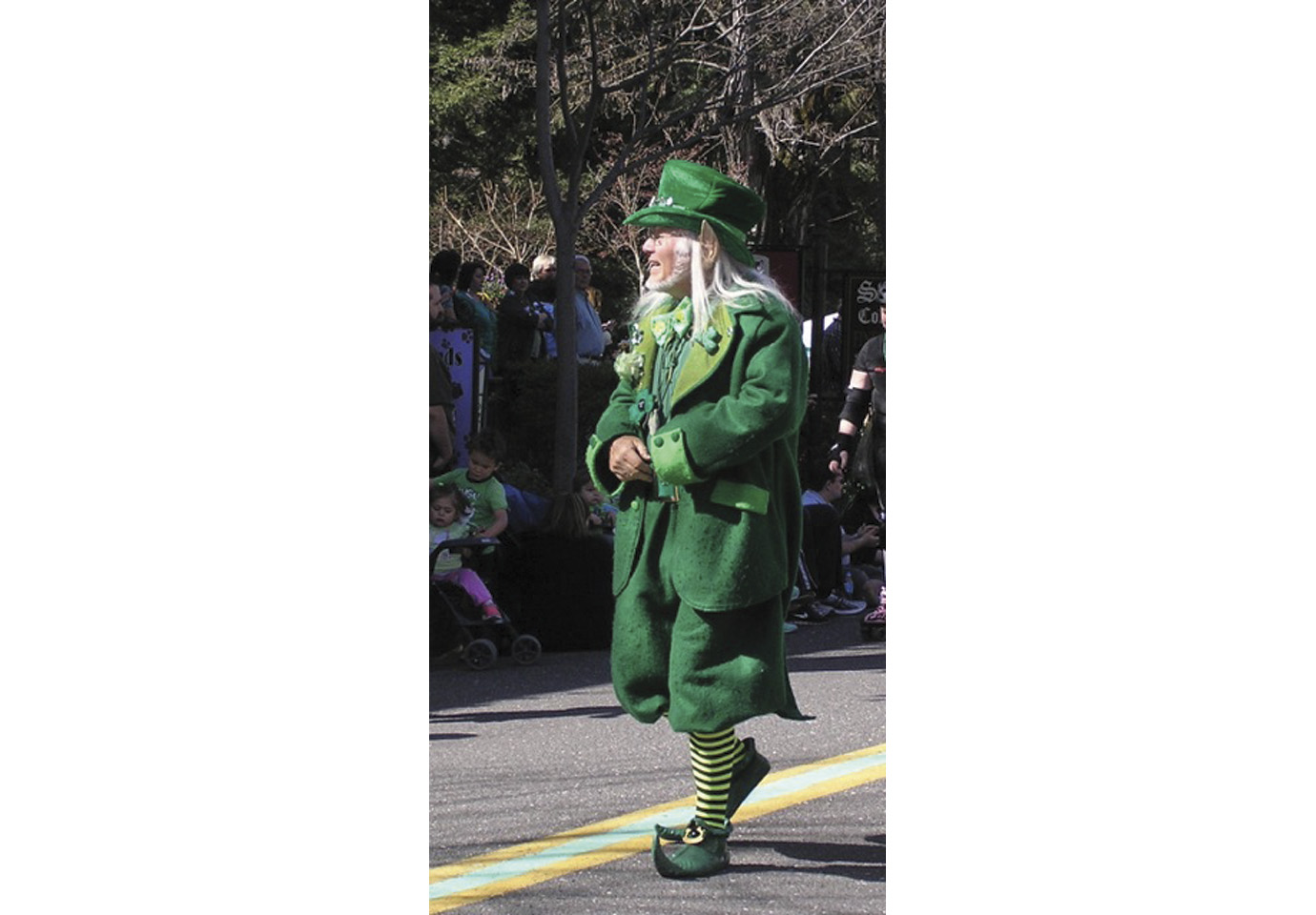Every year, Murphys hosts an Irish Day Parade.