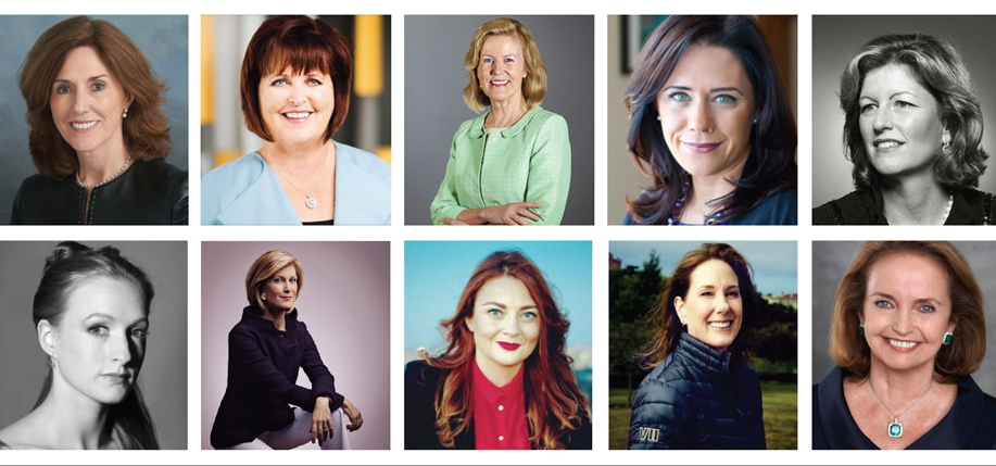 Top 50 women on the web