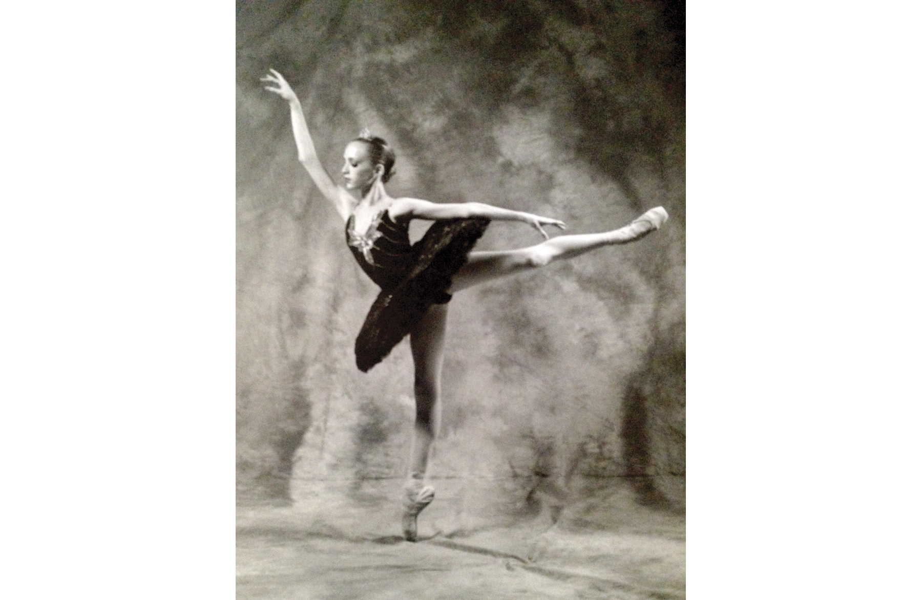 Gillian at 11 in Black Swan. (Photo courtesy Gillian Murphy)