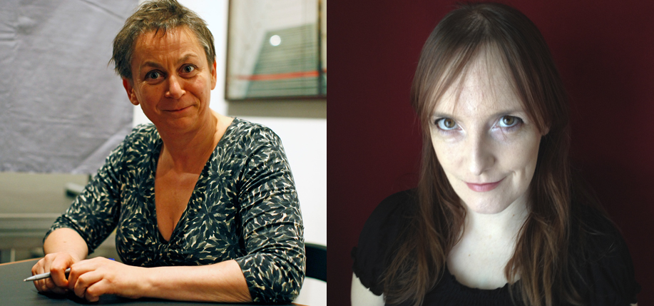 Anne Enright, left, and Lisa McInerney, who were shortlisted for the Bailey's Prize in May.