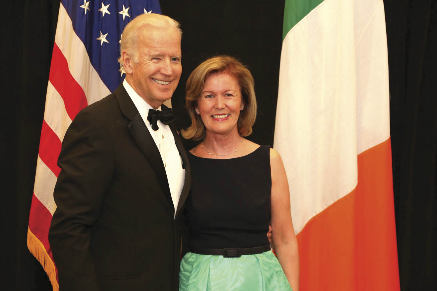 With Vice President Joe Biden who opened the Kennedy Center's Ireland 100: Celebrating a Century of Irish Arts & Culture with Taoiseach Enda Kenny. (Photo: Marty Katz)