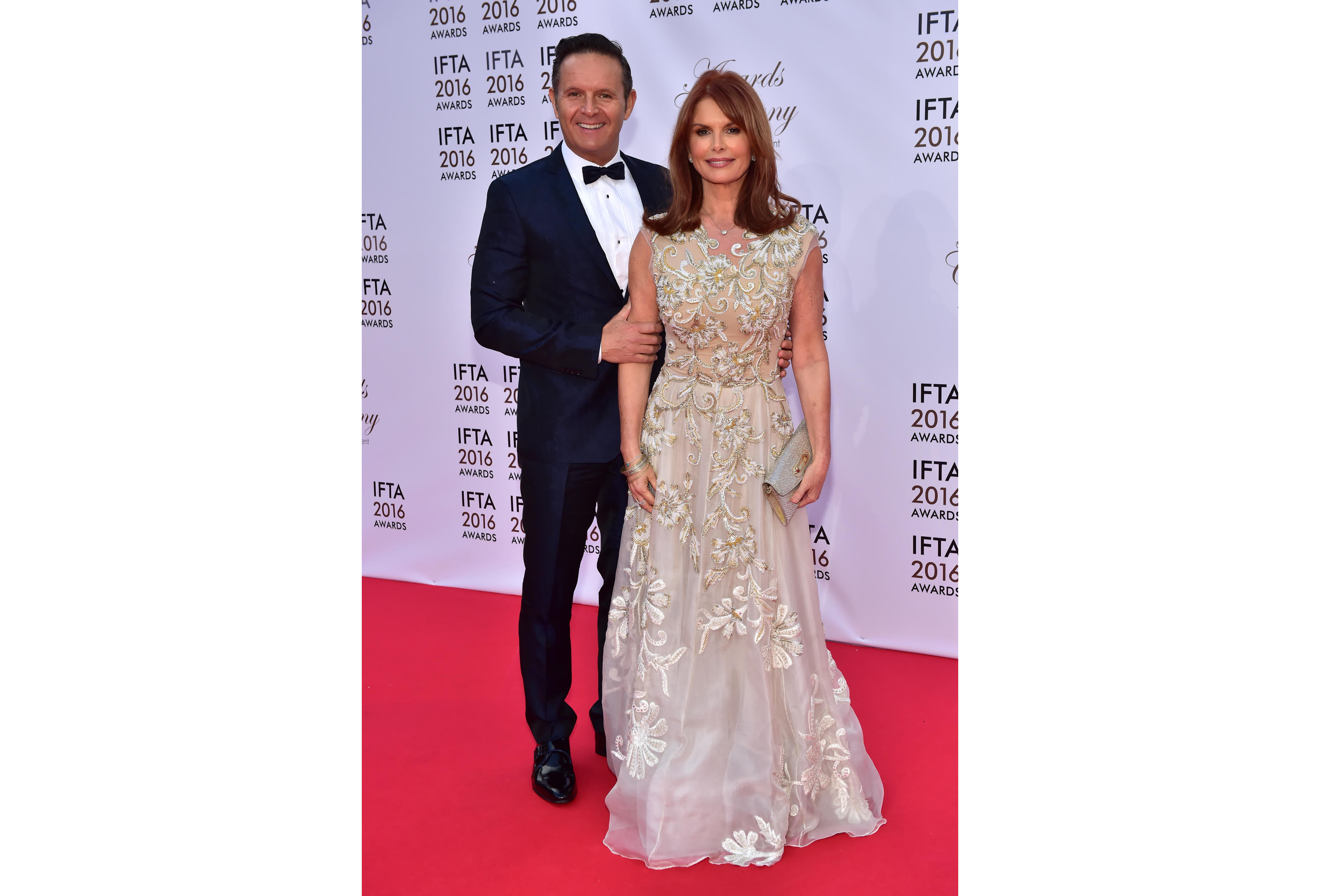 Downey with her husband Mark
