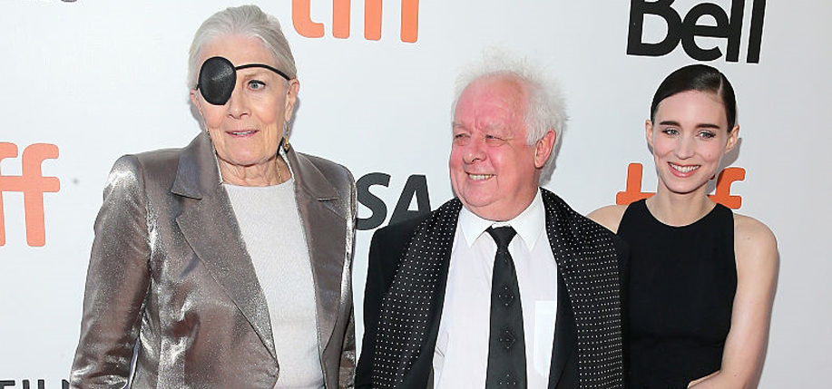Vanessa  Redgrave,  Jim Sheridan, and Rooney Mara at the Toronto Film Festival.
