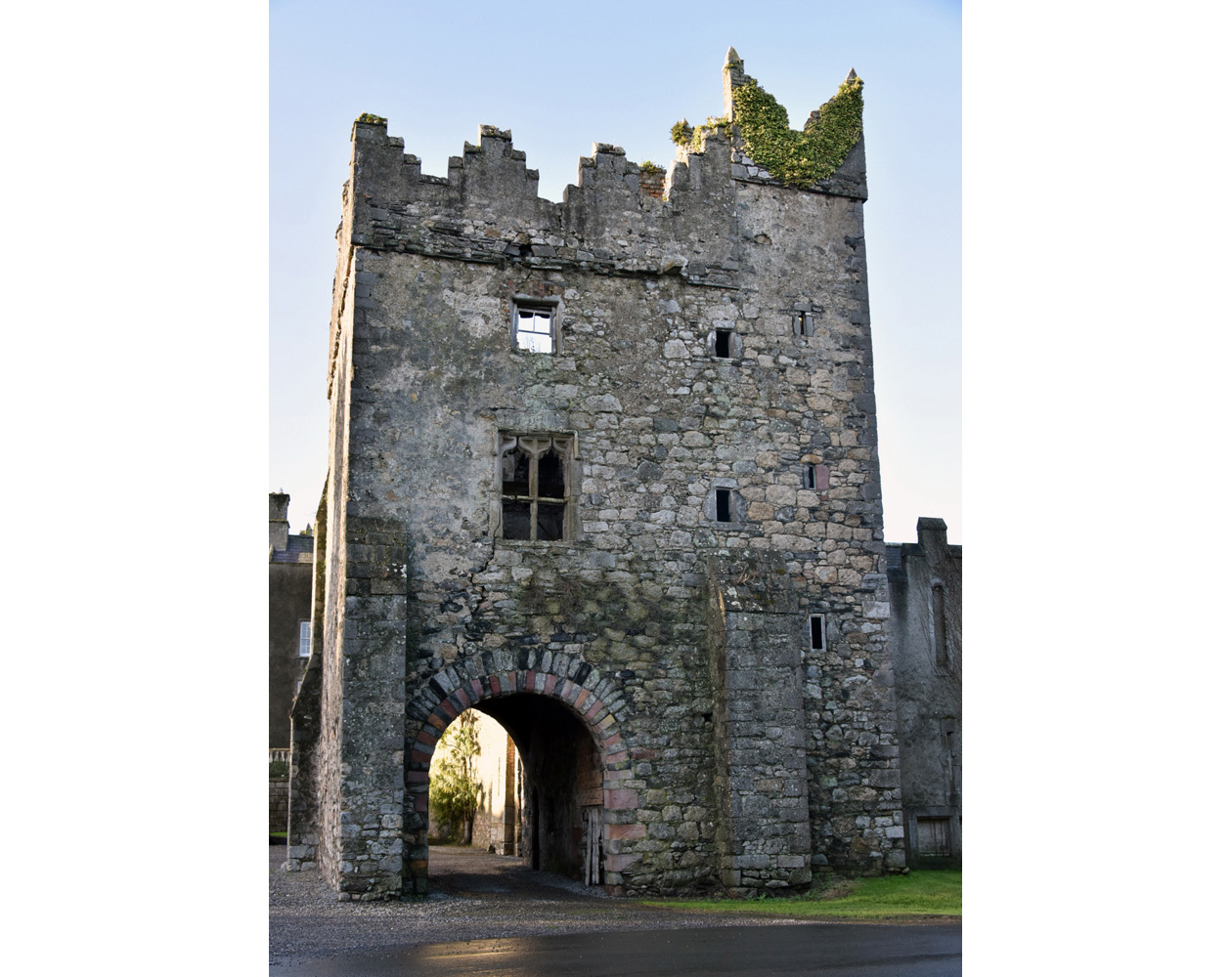 A small section of Howth Castle which dates to medieval times and has been the home of the Gaisford-St. Lawrence family for over 800 years.