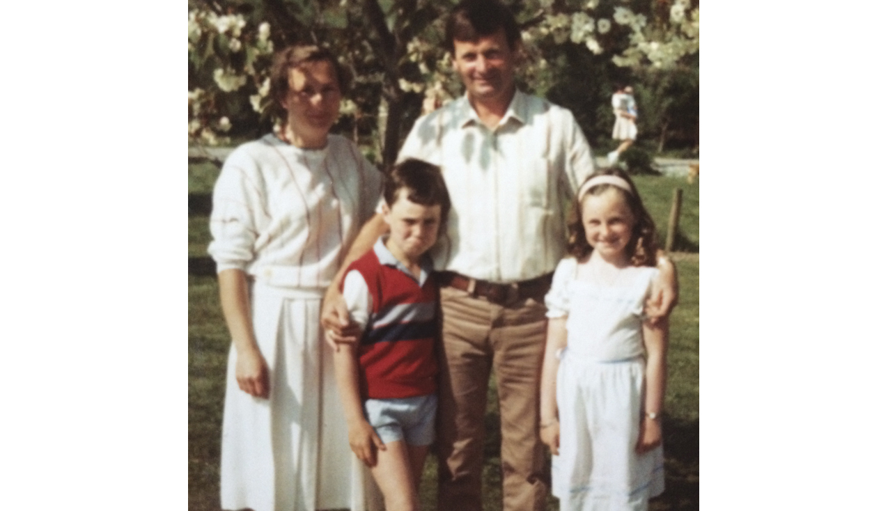 Donal with his sister, and his parents, Anne and Donie Ryan. (Photo courtesy Donal Ryan)