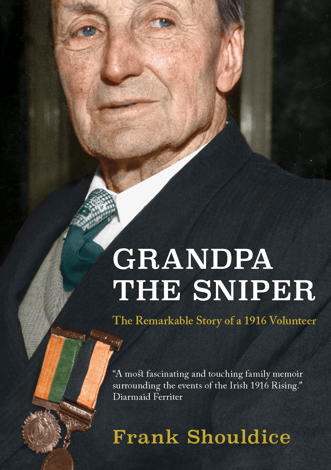 Grandpa The Sniper, published by  The Liffey Press,  is available in the  U.S. through  DuFour Editions at  irishbooks.us/rising1916,  priced at $28.