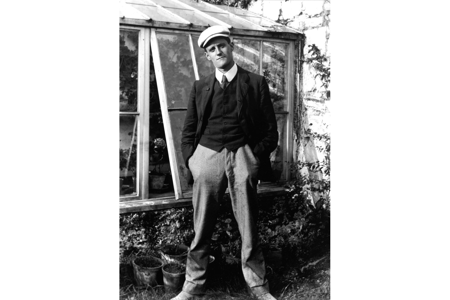 """James Joyce in his mid-twenties at the time he wrote the short story, """"The Dead."""""""