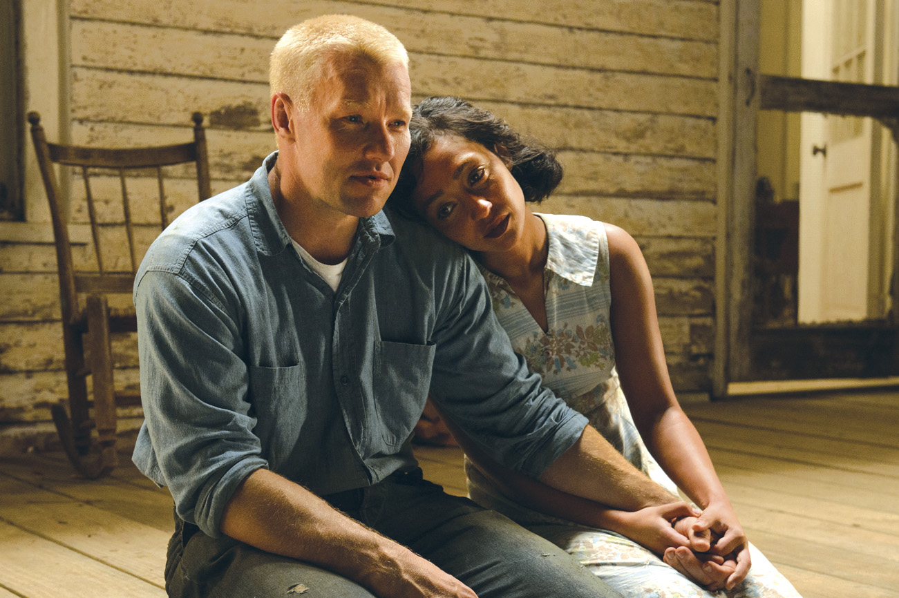 Joel Edgerton and Ruth Negga as Richard and Mildred  Loving, an interracial couple who are sent to prison in Virginia in 1958 for getting married.