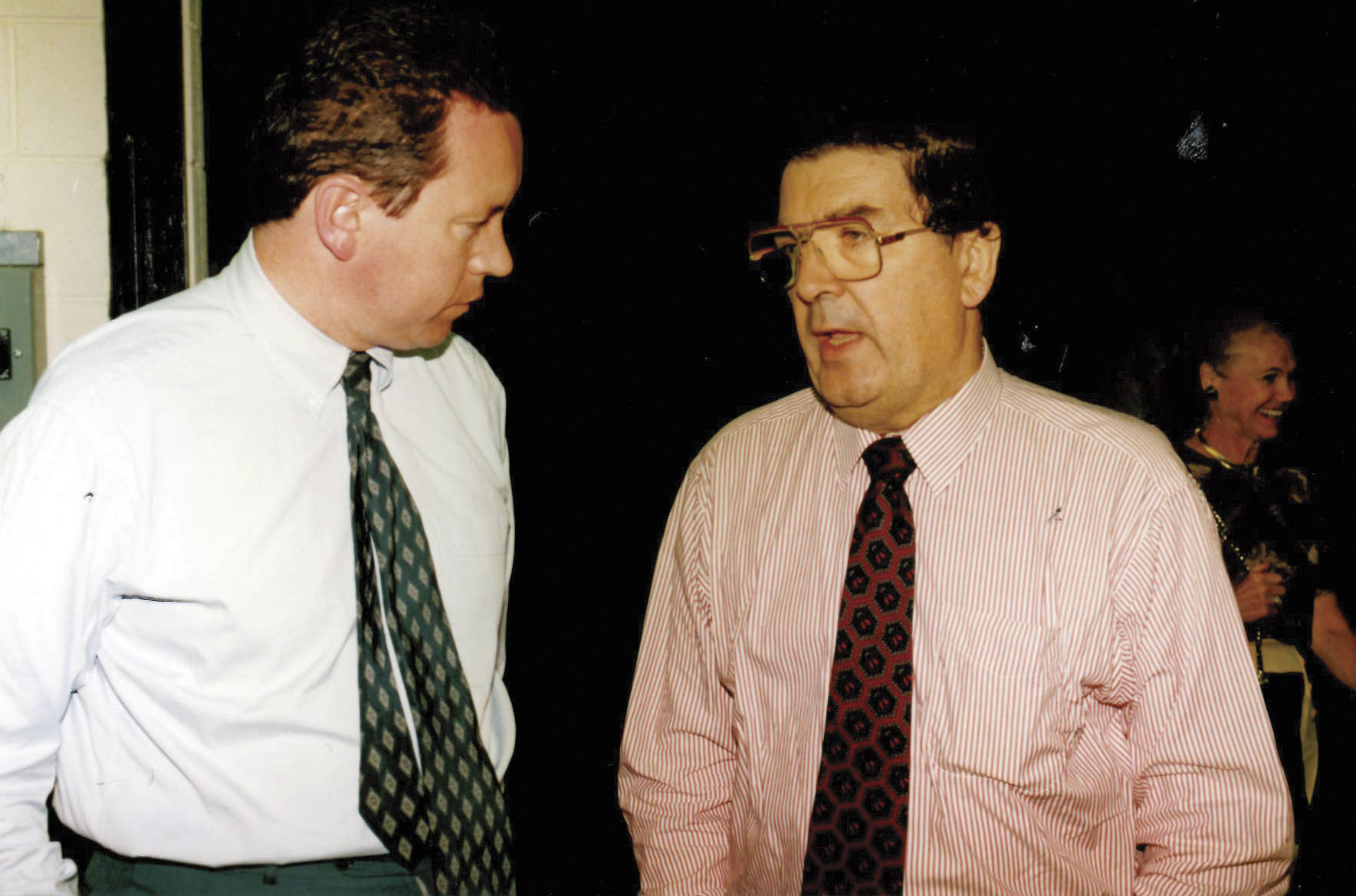 With Nobel Peace Prize winner John Hume.