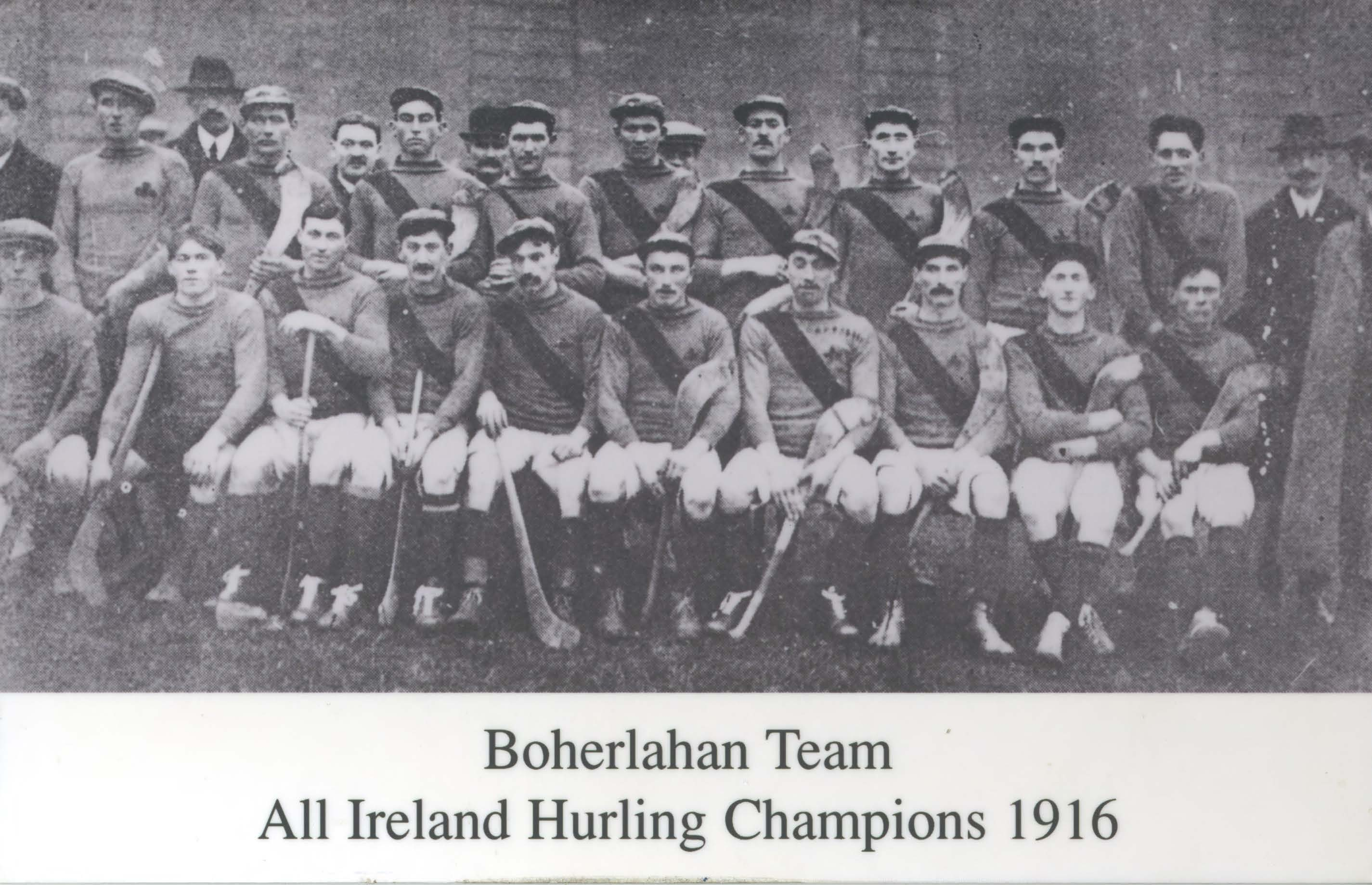 The 1916 Tipperary hurling team. (Photo: G.A.A. Museum Archives)
