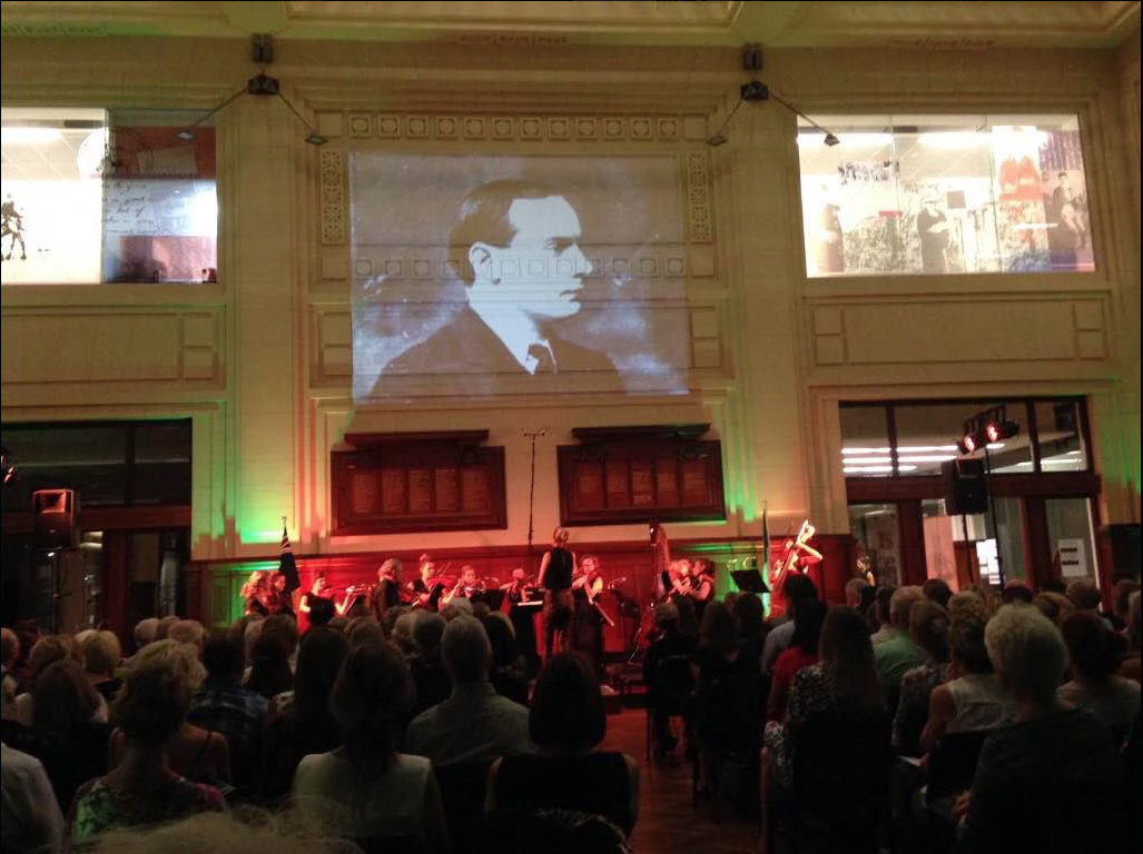 PERTH: On Easter Week, 2016, the Perth Chamber Orchestra, led by Paul Wright, commemorated the Centenary of the Easter  Rising with a Centenary concert at the GPO Building in Perth. The concert combined traditional Irish music with classical numbers to tell the story of the Rising.