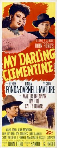 Ford's My Darling Clementine, 1946.
