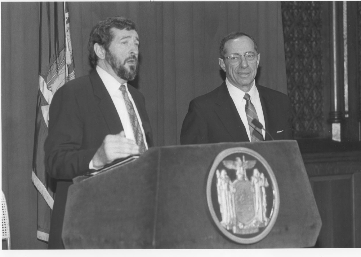 Dowling and former New York Governor Mario Cuomo.