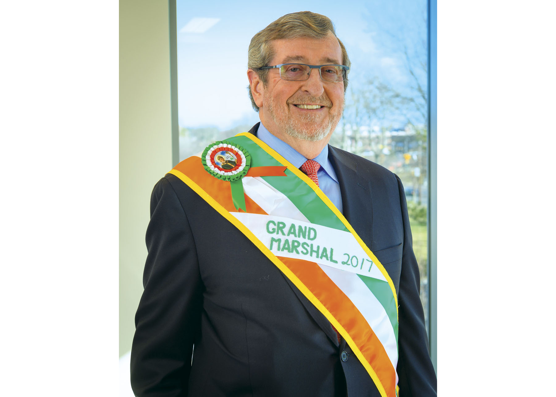 Michael Dowling is the 2017 New York City St. Patrick's Day Parade Grand Marshal.