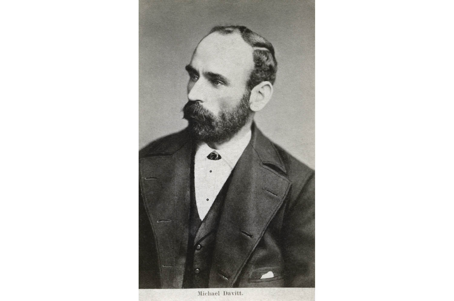 Michael Davitt, founder of the Irish National Land League.