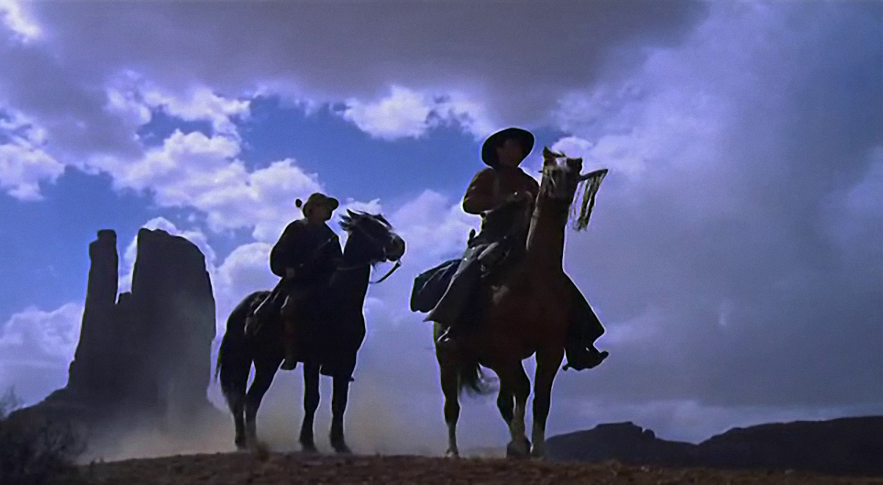 A still from The Searchers, 1956.