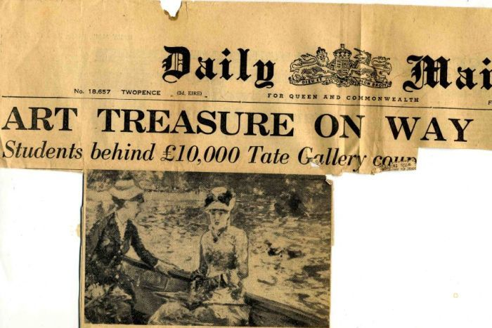 Tate Treasure on Way: A new lead is discovered. (Photo: Courtesy Irish Post)