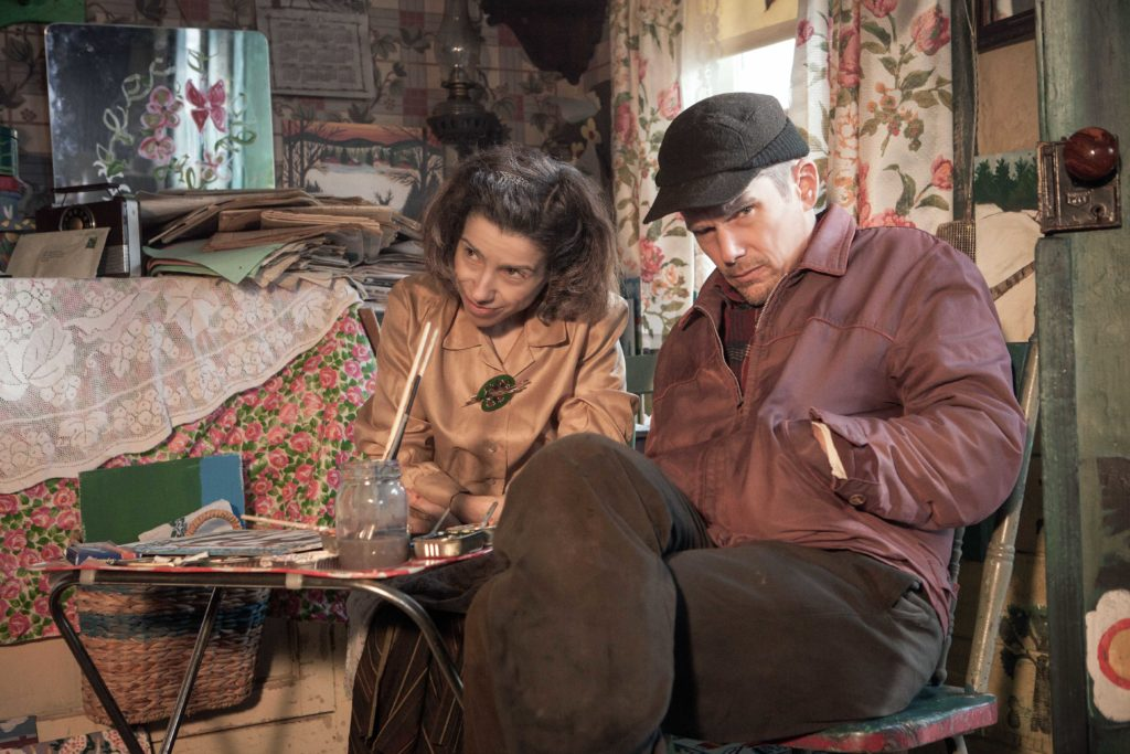 Sally Hawkins and Ethan Hawke in Maudie. (Photo: Duncan Deyoung, Courtesy Sony Pictures Classics)