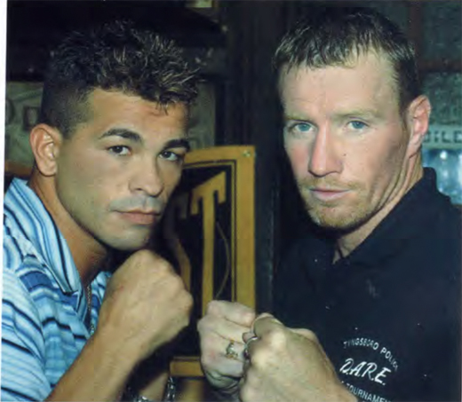<em>Arturo Gatti and Mickey Ward.</em>