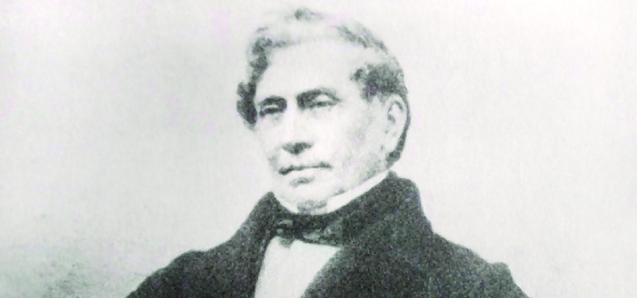 Photograph of Dr. James Barry in approximately the late 1840s.