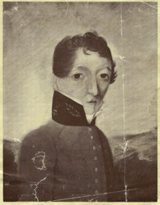 Portrait of James Barry, painted circa 1813–1816.