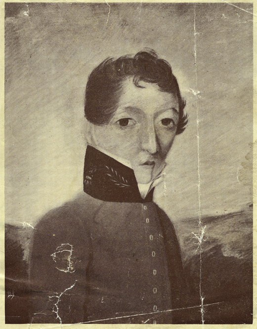 <em>Portrait of James Barry, painted circa 1813–1816.</em>