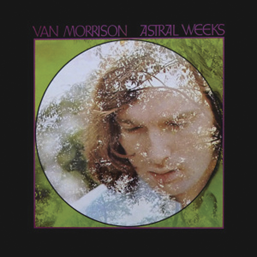 <em>Cover of the Van Morrison album </em>Astral Weeks.<em> The copyright is believed to belong to the label, Warner Bros., or the graphic artist(s).</em>