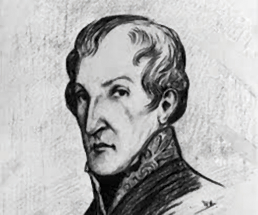 <em>Sketch of Dr. James Barry.</em>