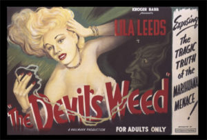 Movie poster for The Devil's Weed (1949).