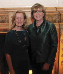 Eileen and Ireland's Ambassador to the U.S. Anne Anderson, pictured at the Irish American Business Chamber dinner where Eileen received the Taoiseach Award.
