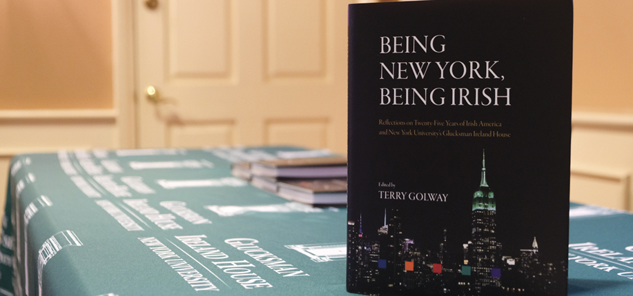 Being New York, Being Irish is available now in all good bookstores and online at www.iap.ie.